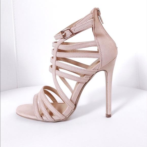 5e32d02bf543 Gladiator Strap Heels
